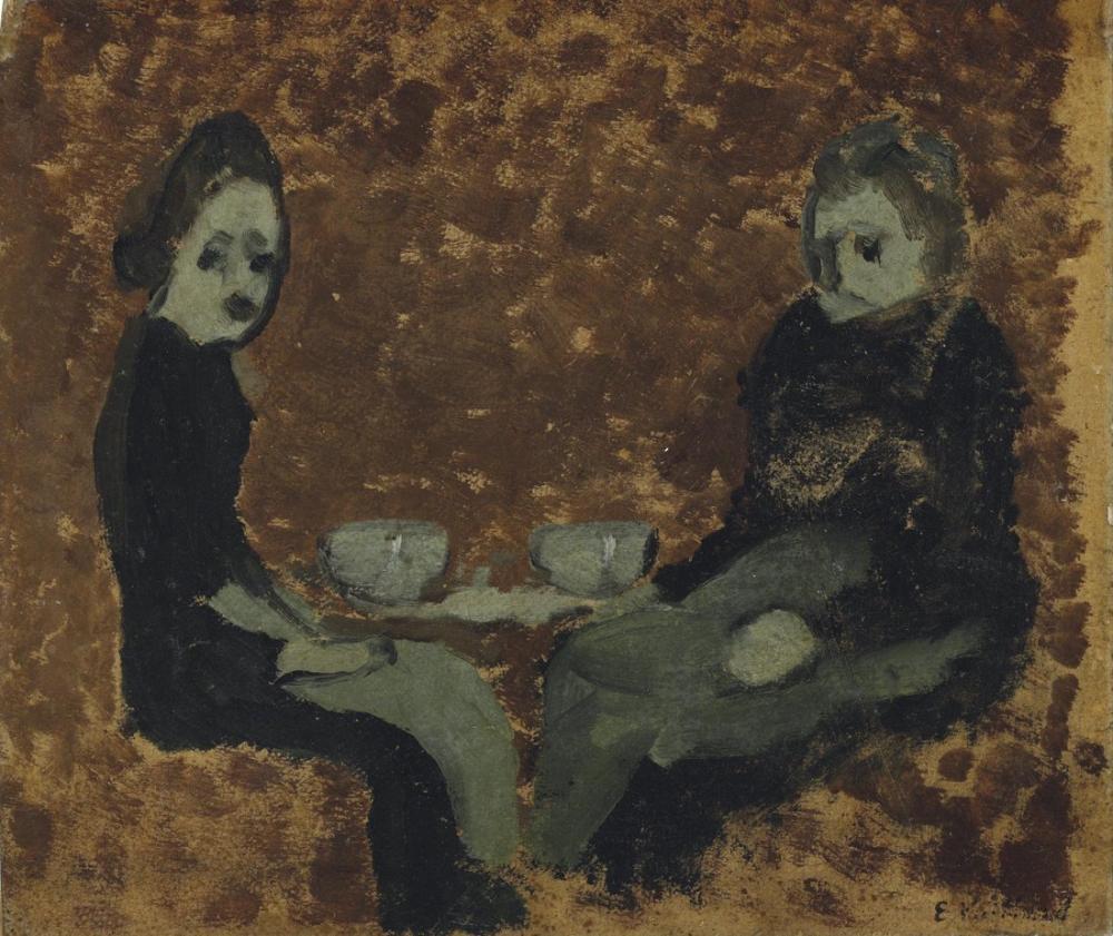Edouard Vuillard, La Collation, Figure, Édouard Vuillard, kanvas tablo, canvas print sales
