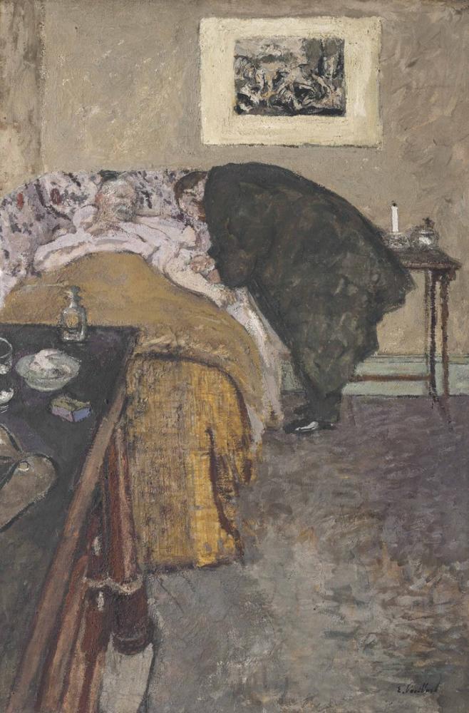 Edouard Vuillard, La Consultation, Figure, Édouard Vuillard, kanvas tablo, canvas print sales