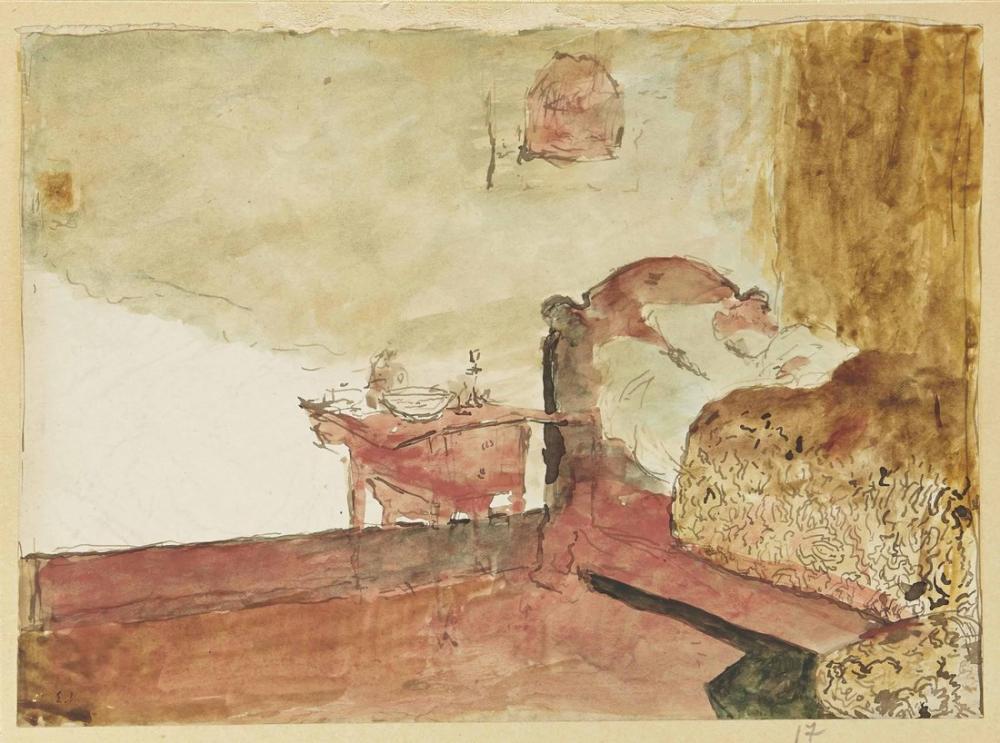 Edouard Vuillard, La Couverture Jaune, Figure, Édouard Vuillard, kanvas tablo, canvas print sales