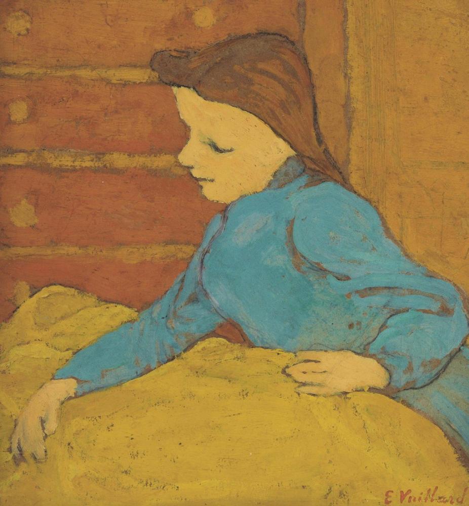 Edouard Vuillard, Küçük El, Figür, Édouard Vuillard, kanvas tablo, canvas print sales