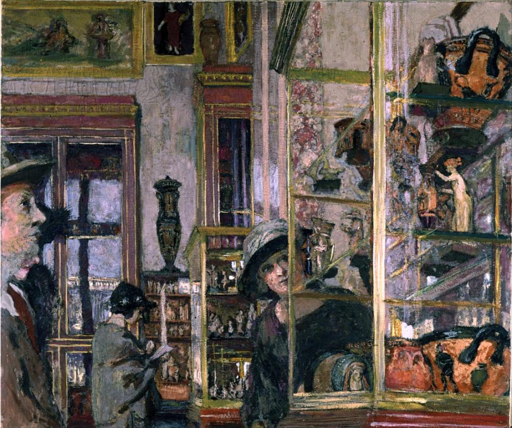 Edouard Vuillard, La Salle Clarac, Kanvas Tablo, Édouard Vuillard, kanvas tablo, canvas print sales