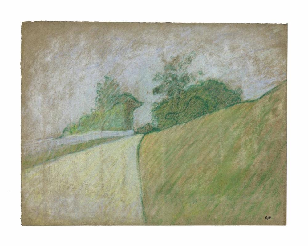 Edouard Vuillard, Le Chemin, Canvas, Édouard Vuillard, kanvas tablo, canvas print sales