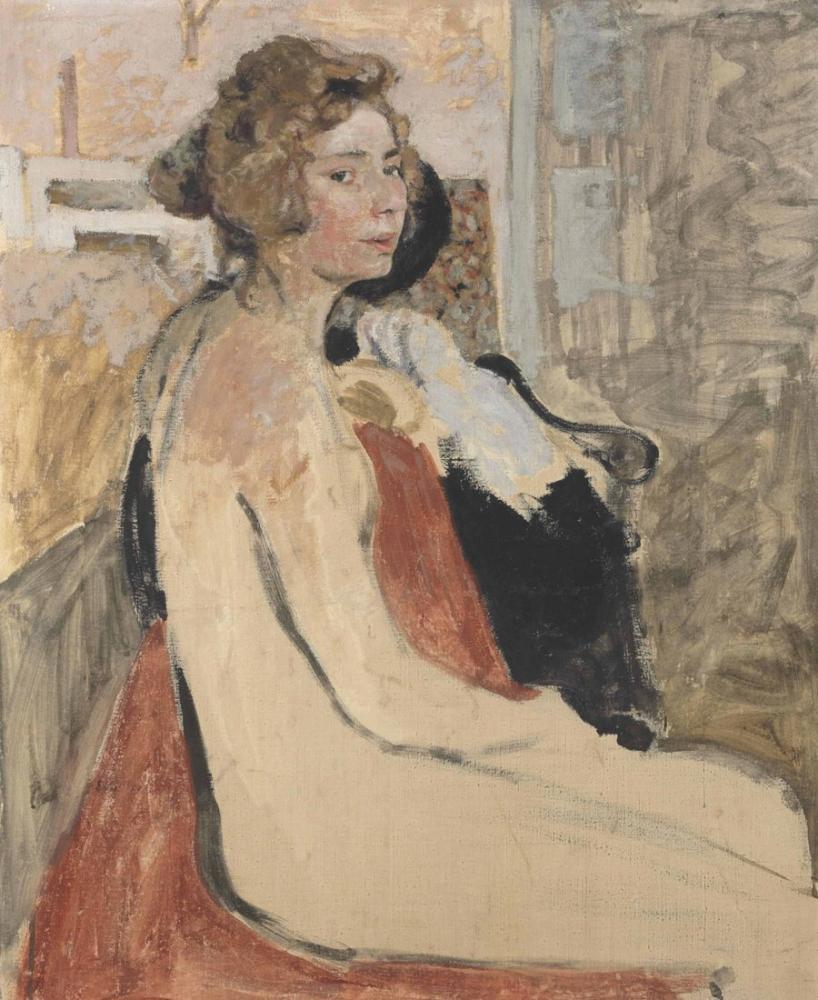 Edouard Vuillard, Le Modele, Canvas, Édouard Vuillard, kanvas tablo, canvas print sales