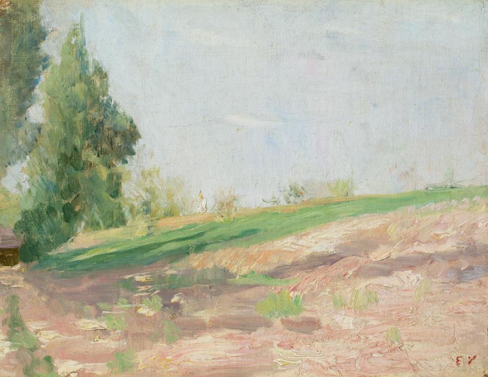 Edouard Vuillard, Eğim, Kanvas Tablo, Édouard Vuillard, kanvas tablo, canvas print sales