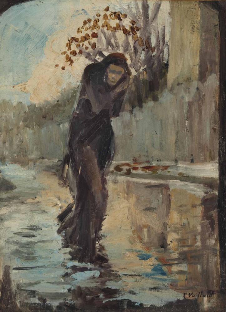 Edouard Vuillard, Kış, Figür, Édouard Vuillard, kanvas tablo, canvas print sales