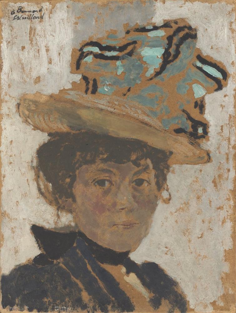 Edouard Vuillard, Madame Bonnard, Kanvas Tablo, Édouard Vuillard, kanvas tablo, canvas print sales