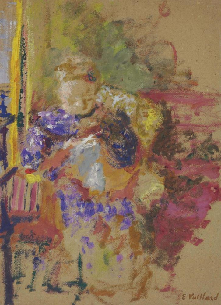 Edouard Vuillard, Madame Cousant, Figure, Édouard Vuillard, kanvas tablo, canvas print sales