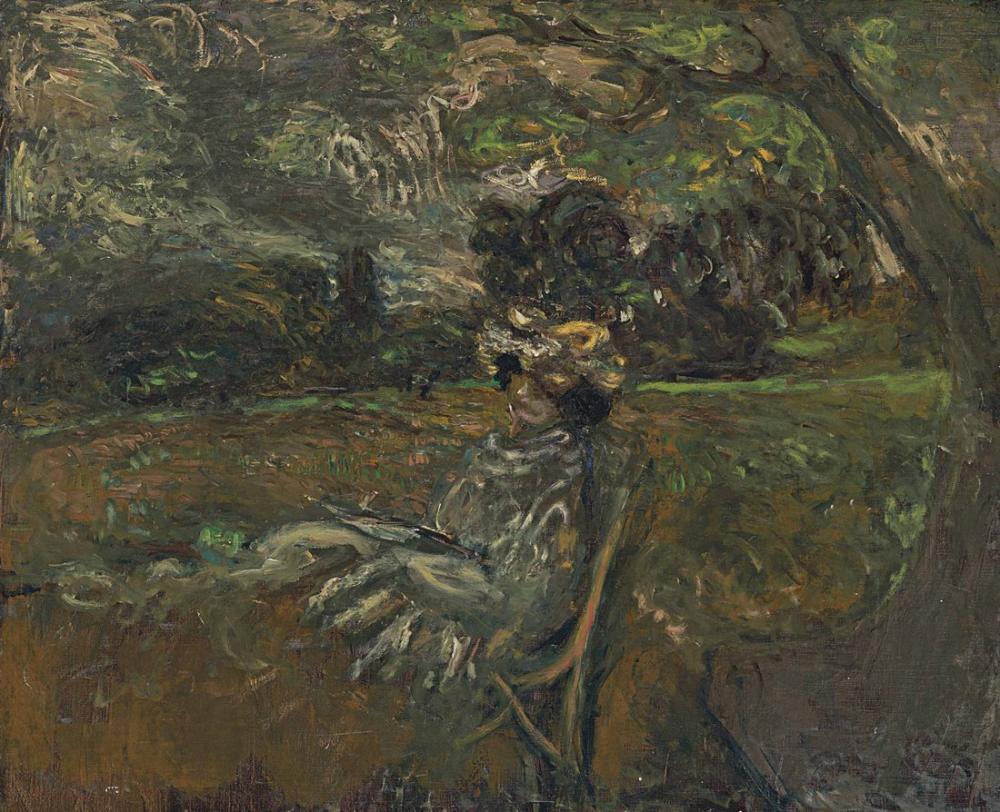Edouard Vuillard, Bayan Hessel Gün Batımında, Figür, Édouard Vuillard, kanvas tablo, canvas print sales