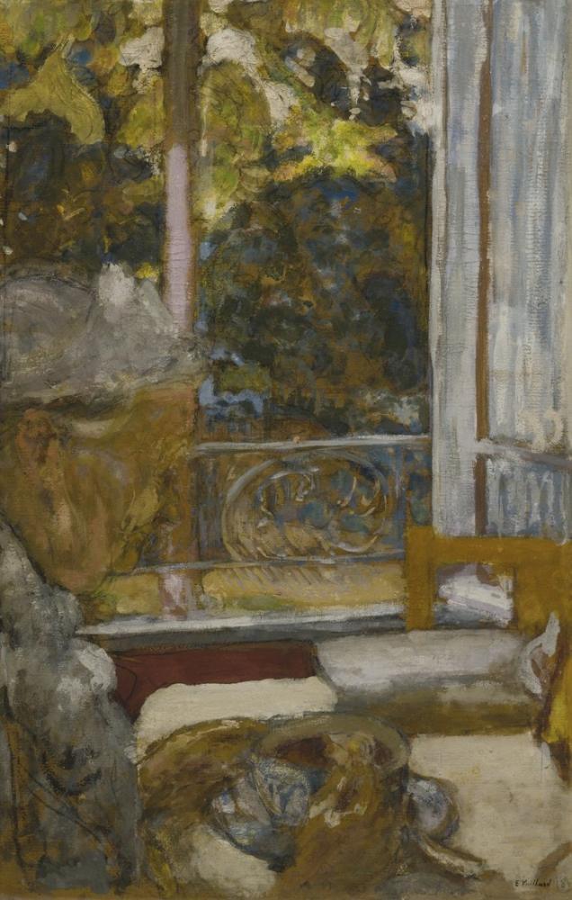 Edouard Vuillard, Madame Vuillard au petit déjeuner à la Toquade, Figure, Édouard Vuillard, kanvas tablo, canvas print sales