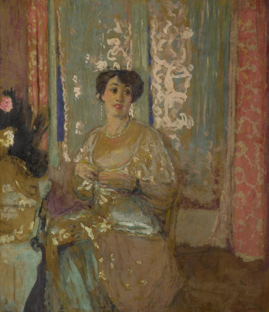 Edouard Vuillard, Marcelle Aron, Canvas, Édouard Vuillard, kanvas tablo, canvas print sales