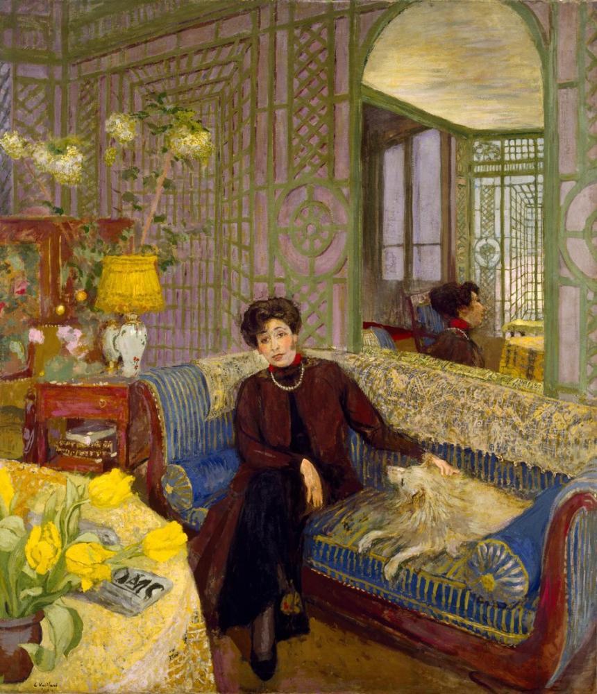 Edouard Vuillard, Marcelle Aron Madam Tristan Bernard, Kanvas Tablo, Édouard Vuillard, kanvas tablo, canvas print sales