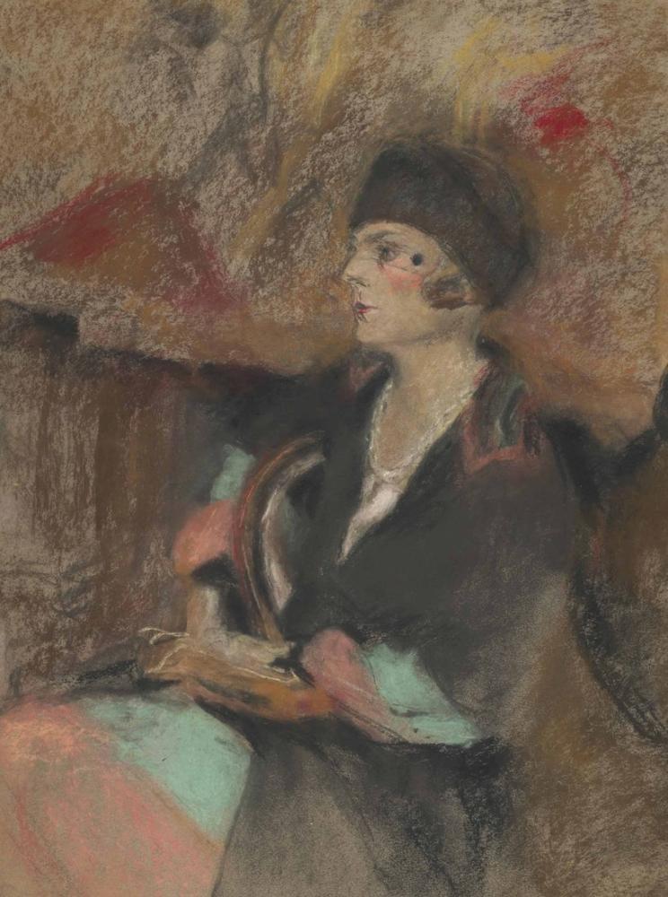Edouard Vuillard, Annette Salomon, Kanvas Tablo, Édouard Vuillard, kanvas tablo, canvas print sales