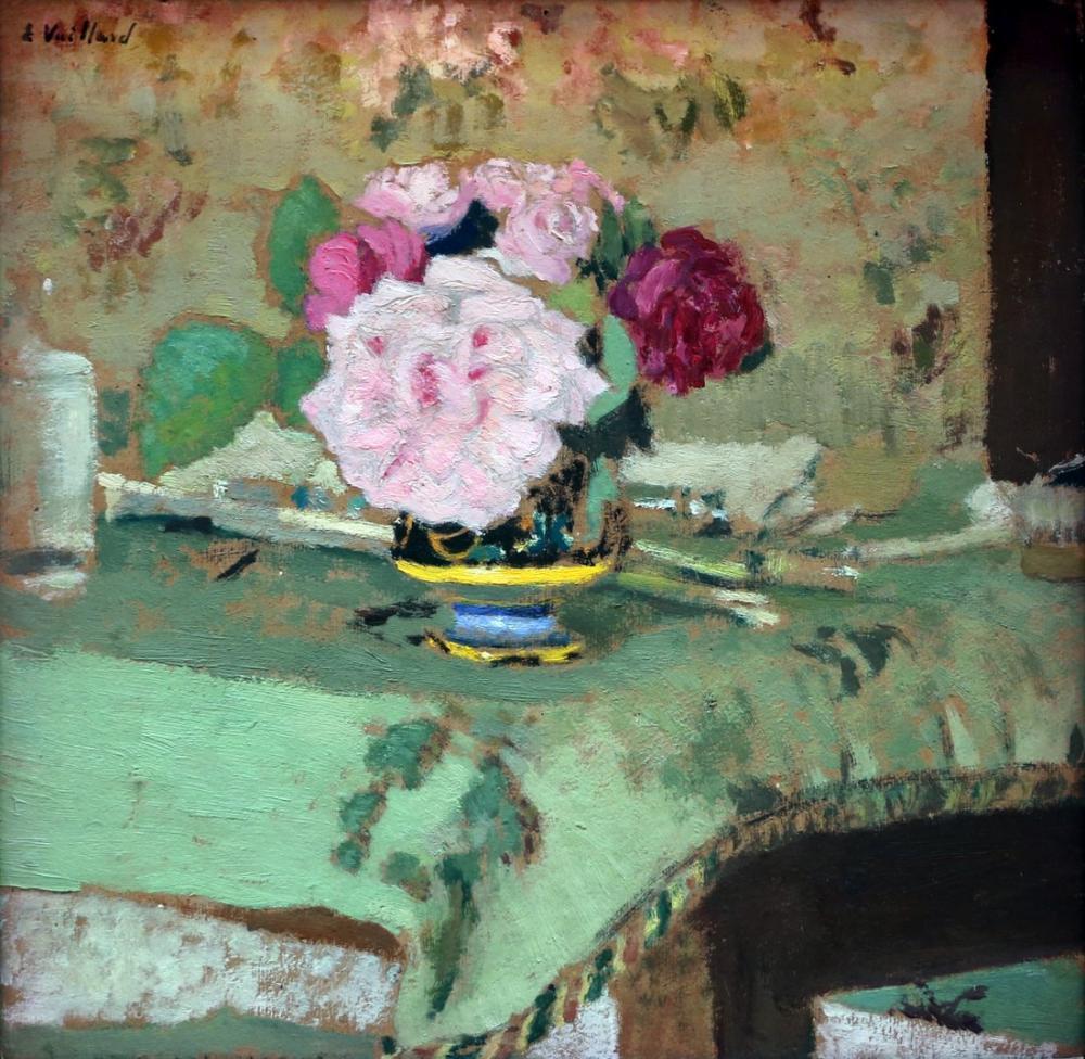 Edouard Vuillard, Mazzo di Fiori, Canvas, Édouard Vuillard, kanvas tablo, canvas print sales