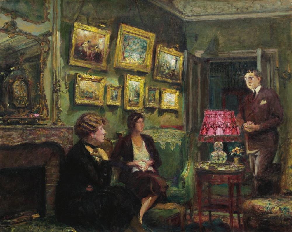 Edouard Vuillard, Mme Gillou Chez Elle, Canvas, Édouard Vuillard, kanvas tablo, canvas print sales
