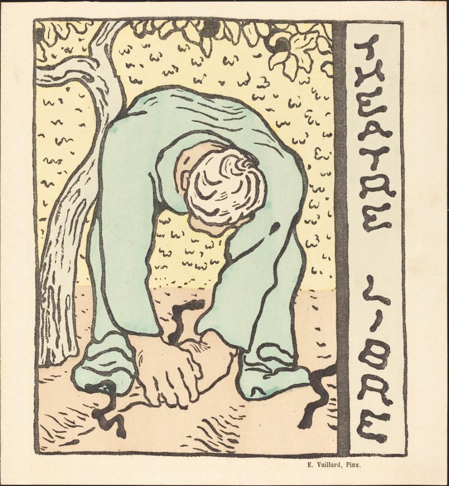 Edouard Vuillard, Monsieur Bute; L Amant de sa femme; La Belle opération, Figure, Édouard Vuillard, kanvas tablo, canvas print sales