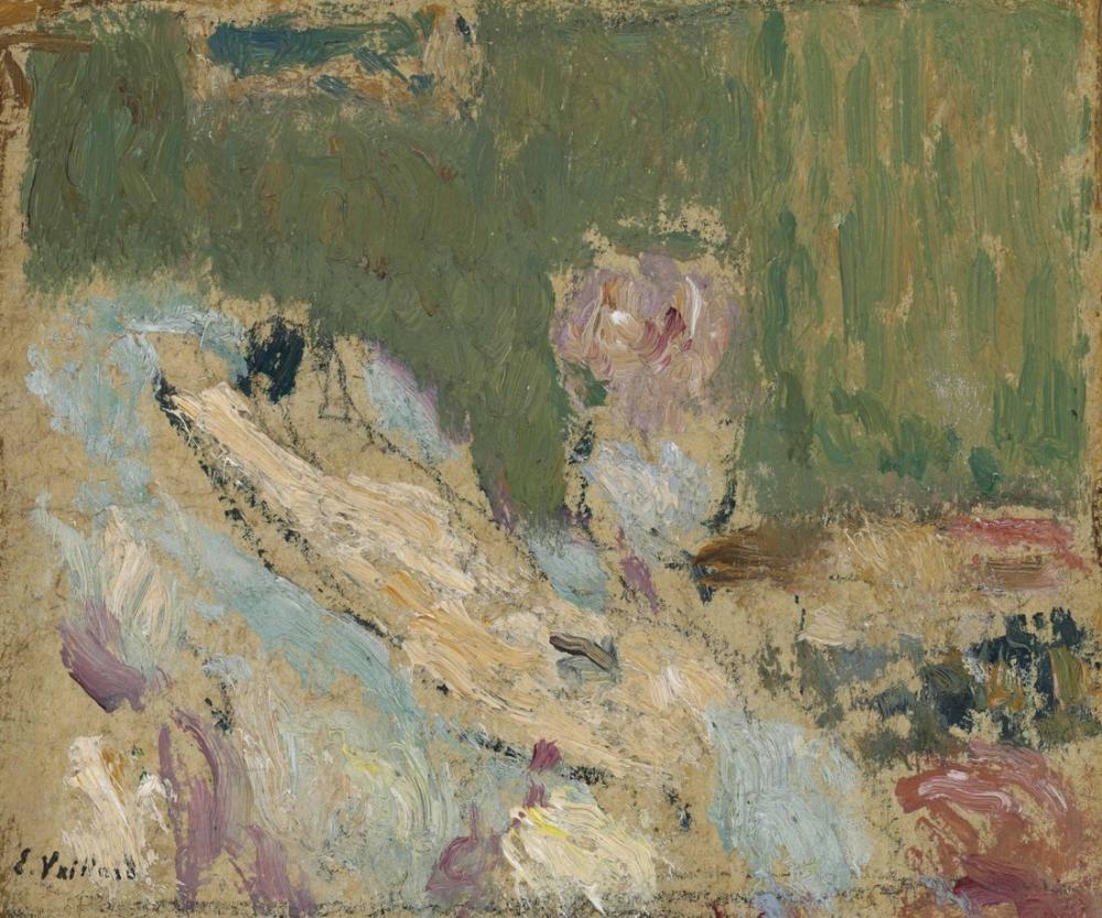 Edouard Vuillard, Kanepede Yatan Çıplak, Figür, Édouard Vuillard, kanvas tablo, canvas print sales