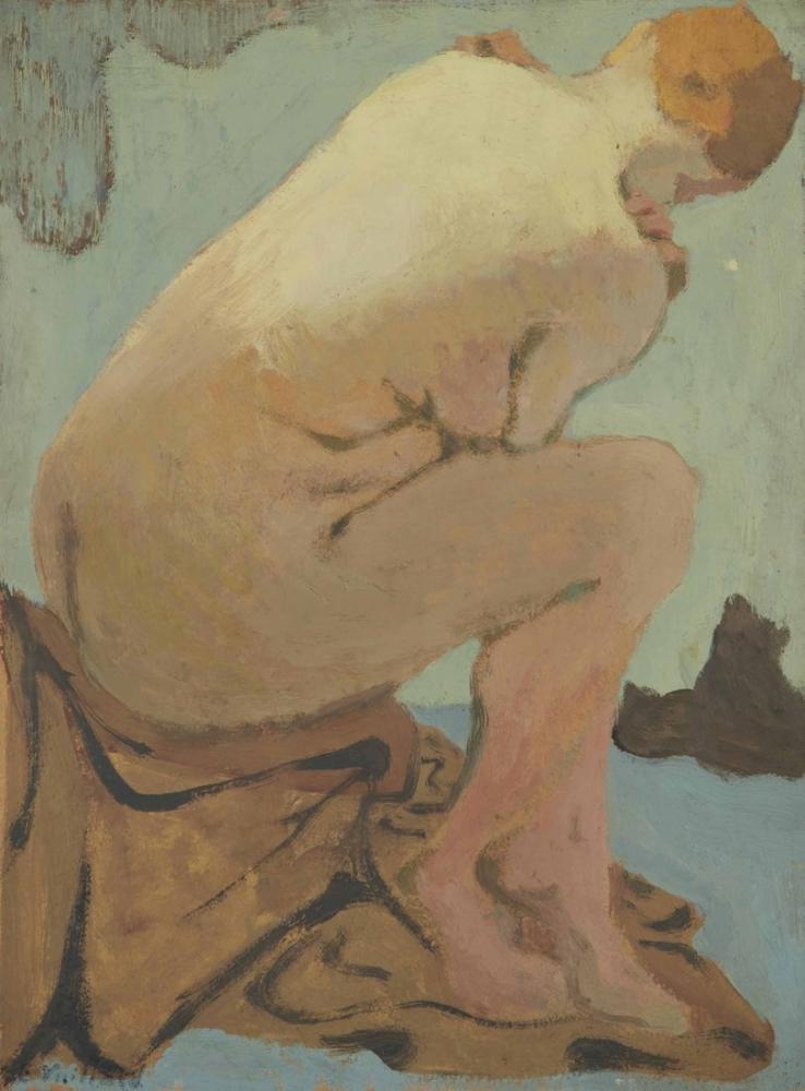 Edouard Vuillard, Nu Assis, Canvas, Édouard Vuillard, kanvas tablo, canvas print sales