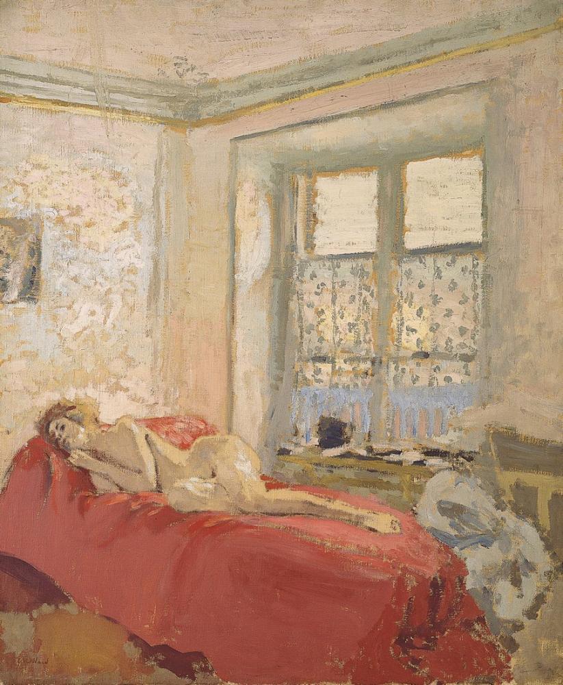 Edouard Vuillard, Nu couché, Figure, Édouard Vuillard, kanvas tablo, canvas print sales