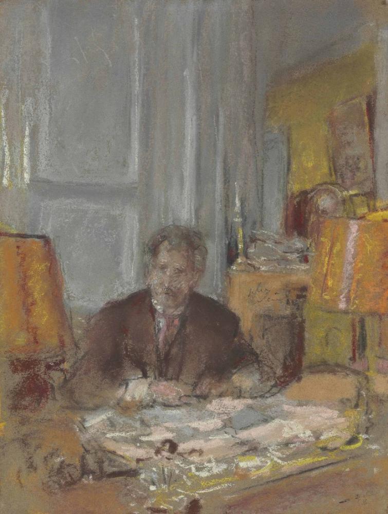 Edouard Vuillard, Portrait de Philippe Berthelot, Figure, Édouard Vuillard, kanvas tablo, canvas print sales