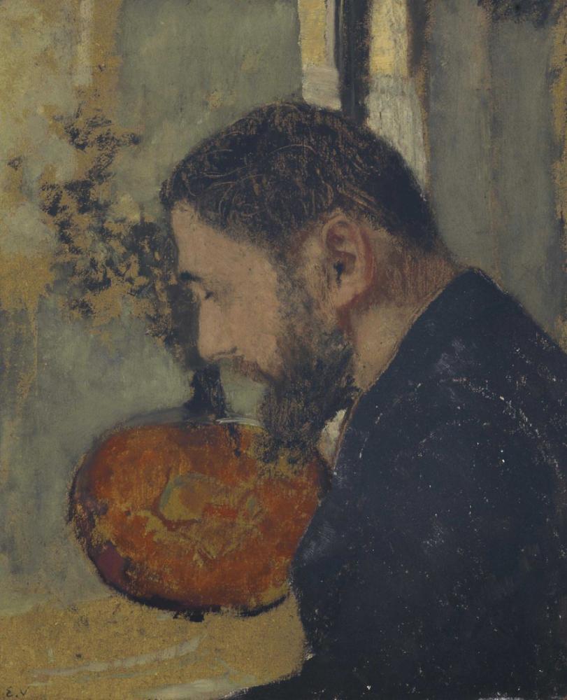 Edouard Vuillard, Portrait de thadee natanson, Canvas, Édouard Vuillard, kanvas tablo, canvas print sales