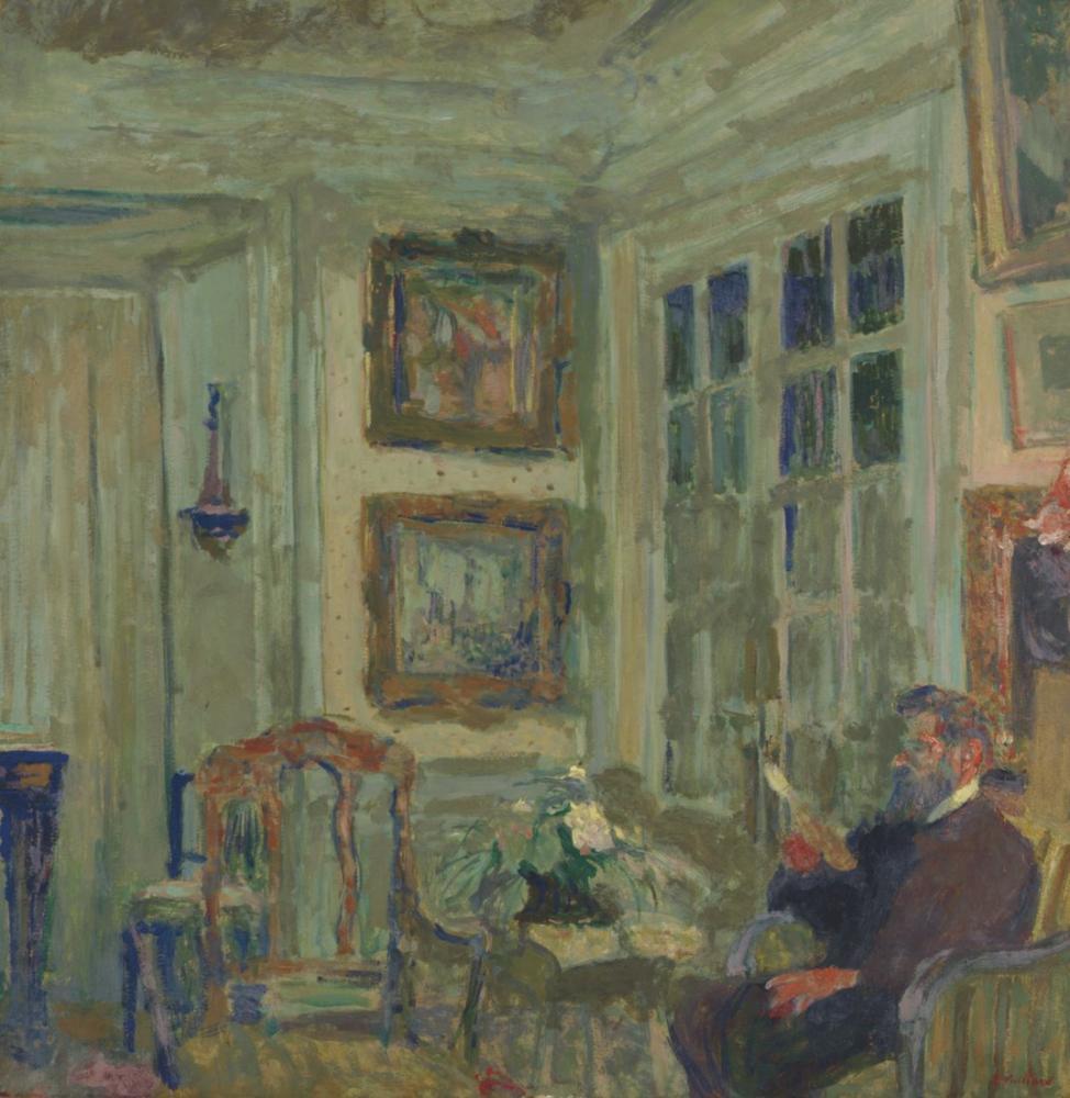 Edouard Vuillard, Arthur Fontaine, Kanvas Tablo, Édouard Vuillard, kanvas tablo, canvas print sales