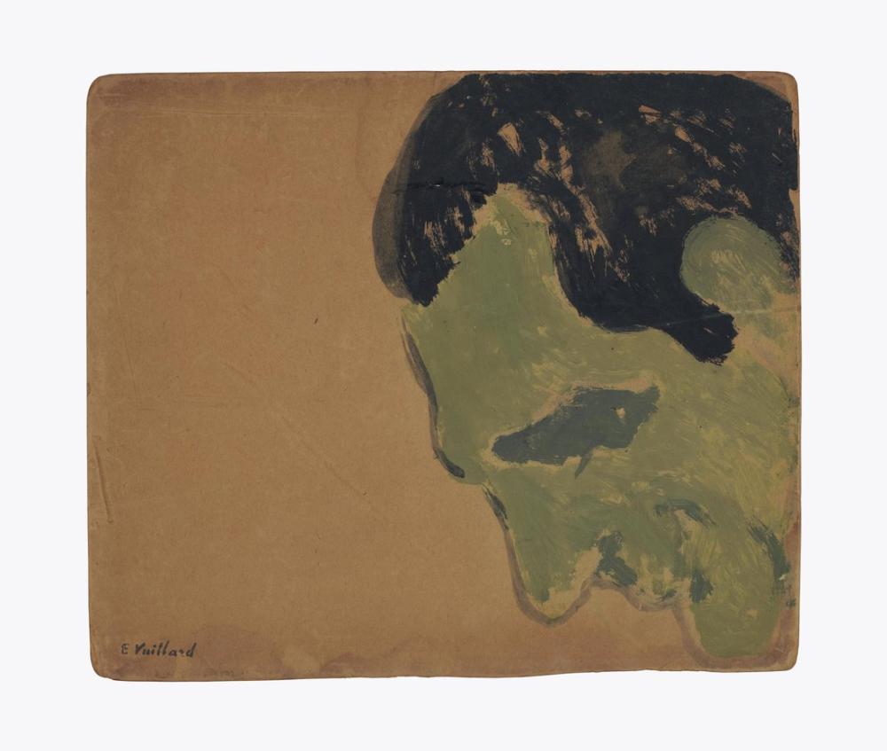 Edouard Vuillard, Profil de Lugne Poe, Figure, Édouard Vuillard, kanvas tablo, canvas print sales