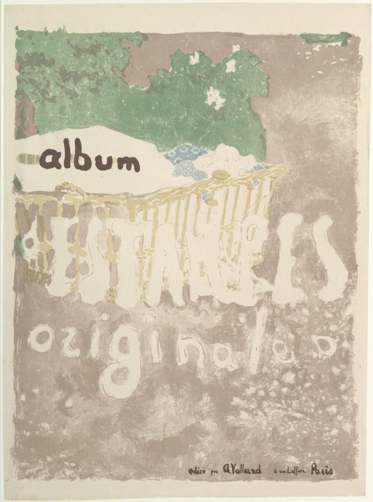 Edouard Vuillard, Project for a Print Album Cover, Figure, Édouard Vuillard, kanvas tablo, canvas print sales