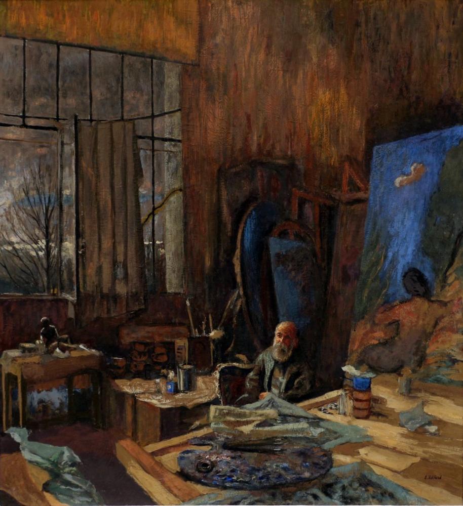 Edouard Vuillard, Ritratto di Kerr Xavier Roussel, Canvas, Édouard Vuillard, kanvas tablo, canvas print sales