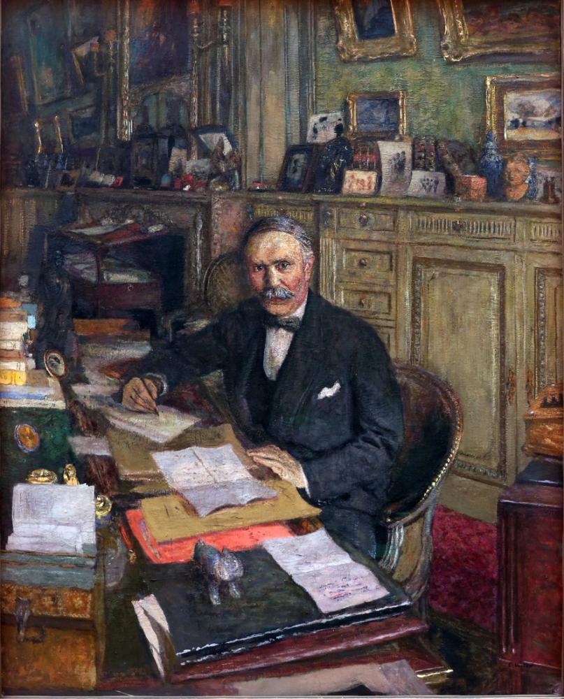 Edouard Vuillard, Ritratto di Louis Loucheur, Canvas, Édouard Vuillard, kanvas tablo, canvas print sales