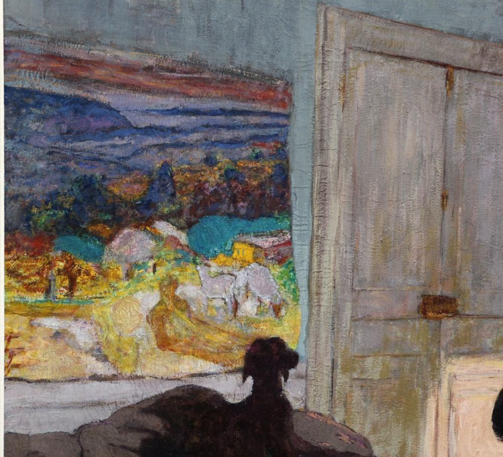 Edouard Vuillard, Ritratto di Pierre Bonnard, Canvas, Édouard Vuillard, kanvas tablo, canvas print sales