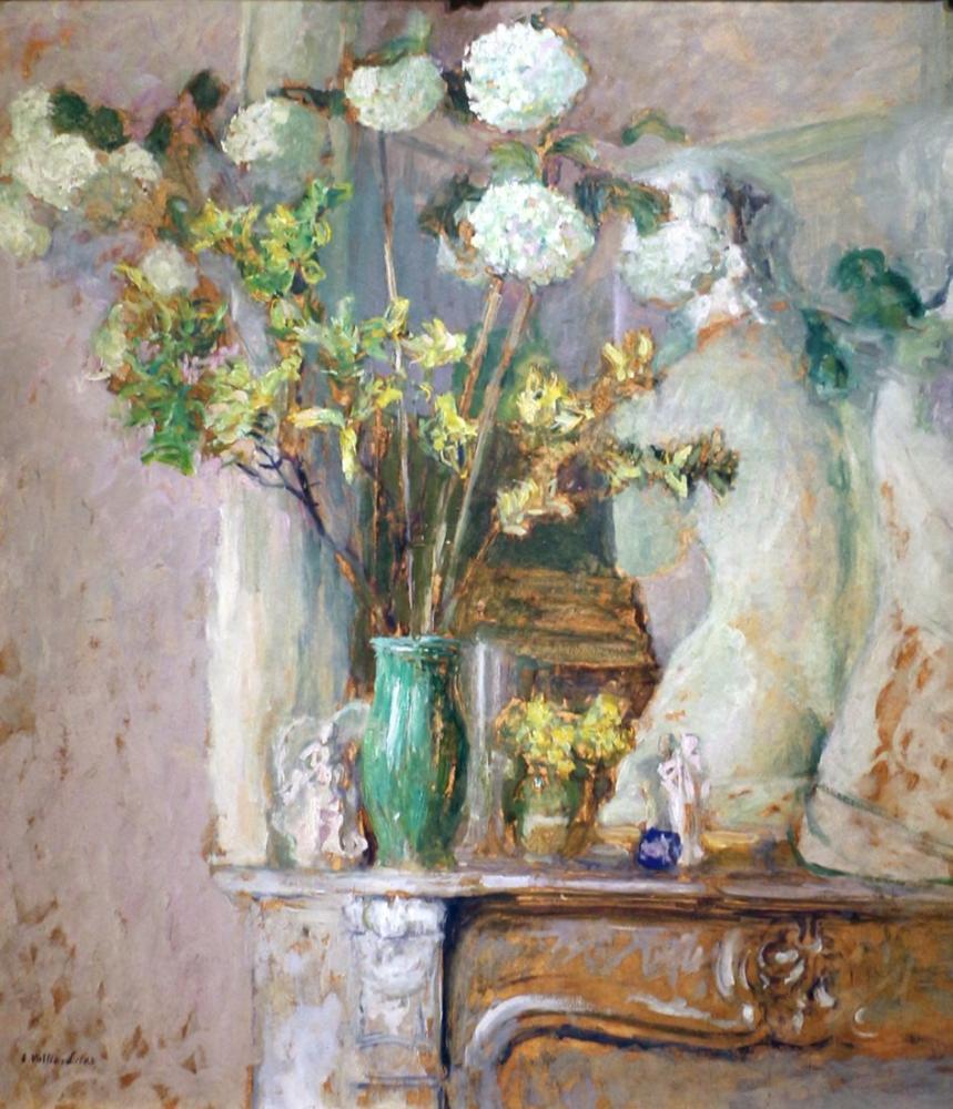 Edouard Vuillard, Rose Guelder ve Milo Venüsü, Kanvas Tablo, Édouard Vuillard, kanvas tablo, canvas print sales