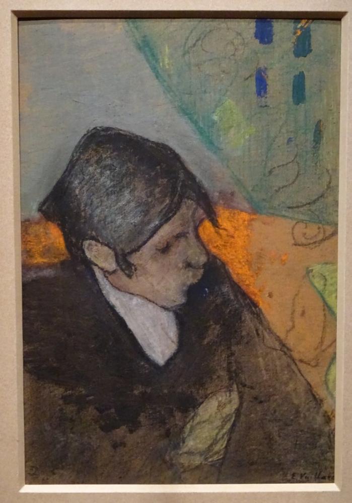 Edouard Vuillard, Roussel à la mèche noire, Figür, Édouard Vuillard, kanvas tablo, canvas print sales