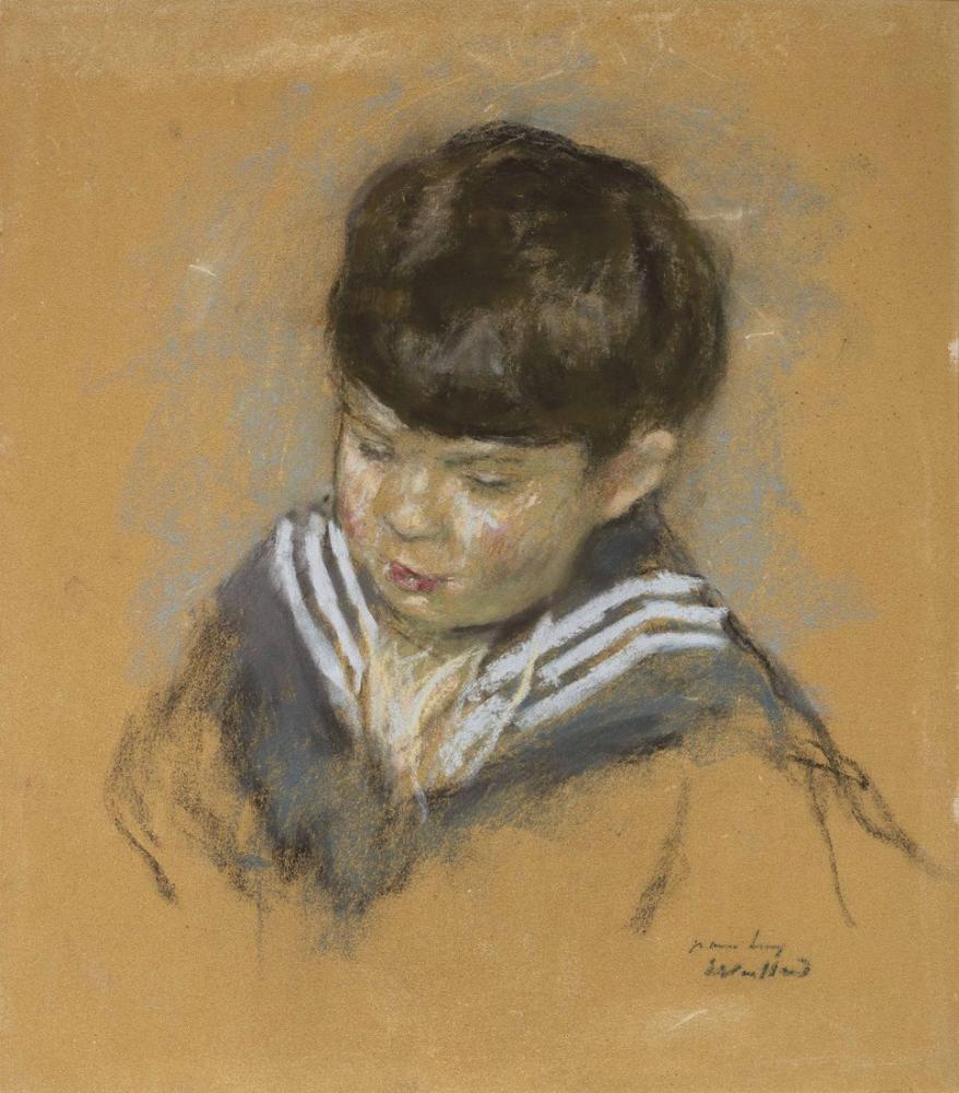 Edouard Vuillard, A Jean Reiss en Costume Marin, Canvas, Édouard Vuillard, kanvas tablo, canvas print sales