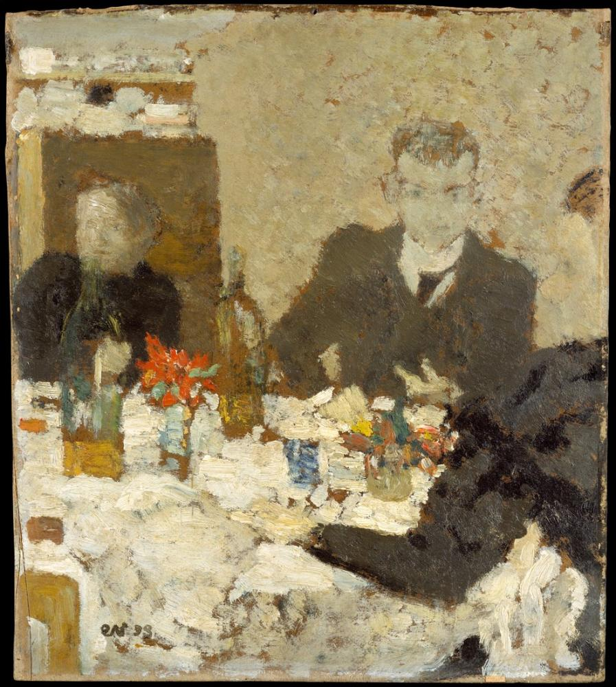 Edouard Vuillard, Masada, Figür, Édouard Vuillard, kanvas tablo, canvas print sales
