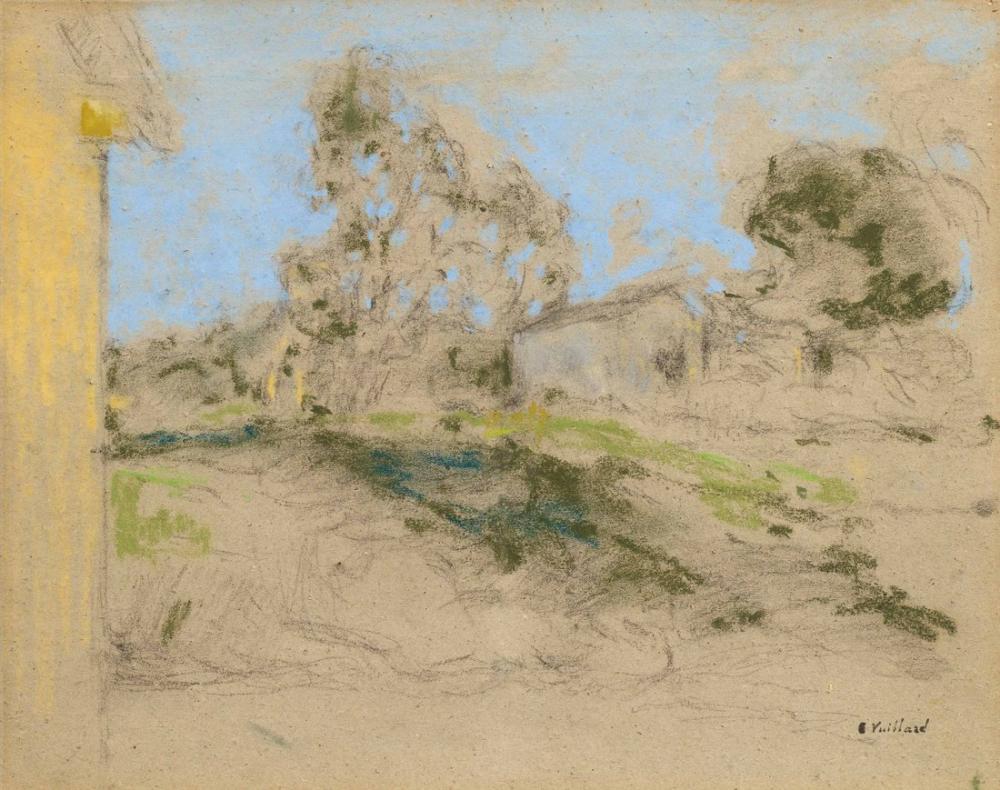 Edouard Vuillard, Rue de Village, Canvas, Édouard Vuillard, kanvas tablo, canvas print sales