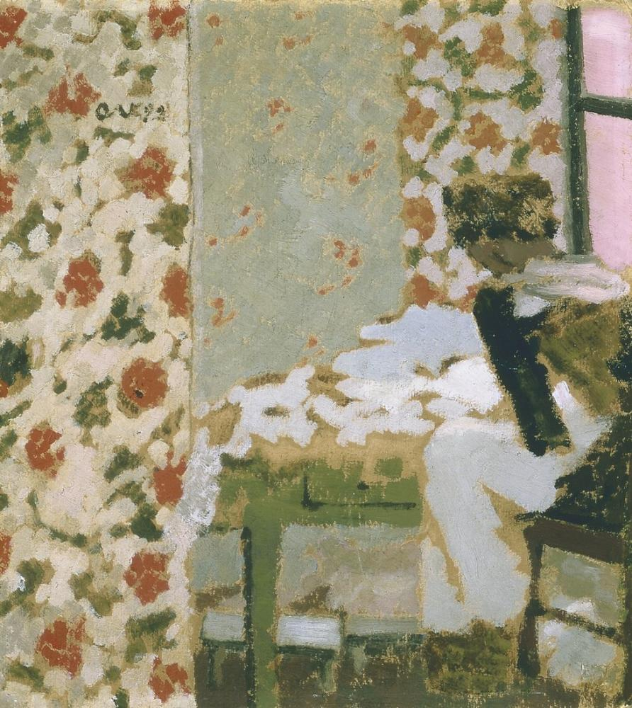 Edouard Vuillard, Seamstress, Figure, Édouard Vuillard, kanvas tablo, canvas print sales