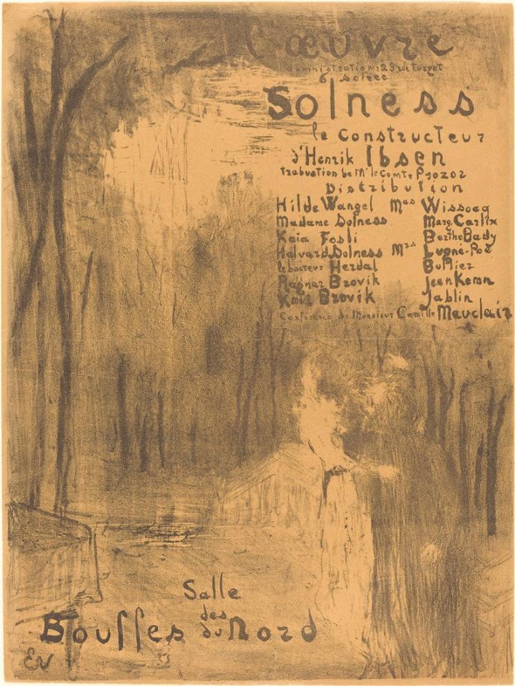 Edouard Vuillard, Kurucu Solness, Figür, Édouard Vuillard, kanvas tablo, canvas print sales