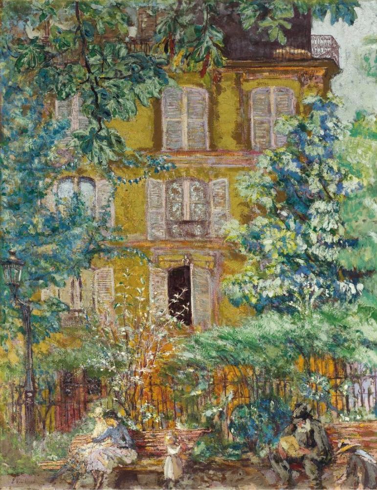 Edouard Vuillard, Square, Canvas, Édouard Vuillard, kanvas tablo, canvas print sales