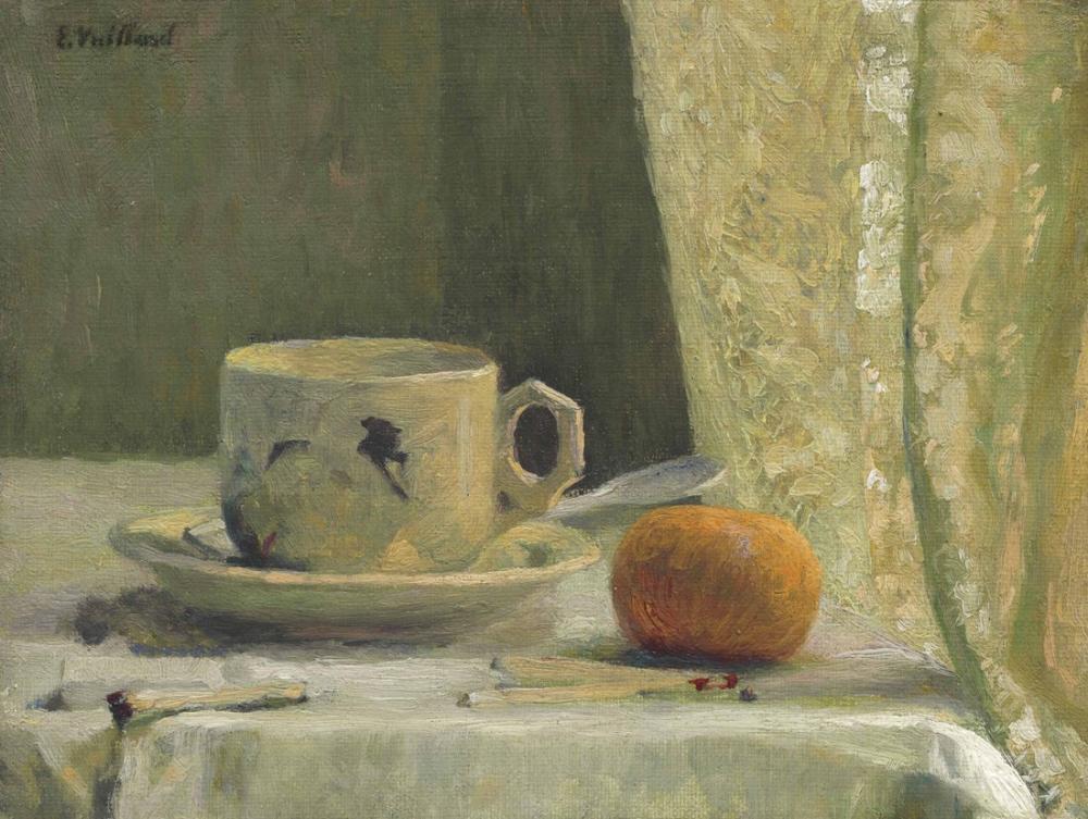 Edouard Vuillard, Tasse et Mandarine, Canvas, Édouard Vuillard, kanvas tablo, canvas print sales