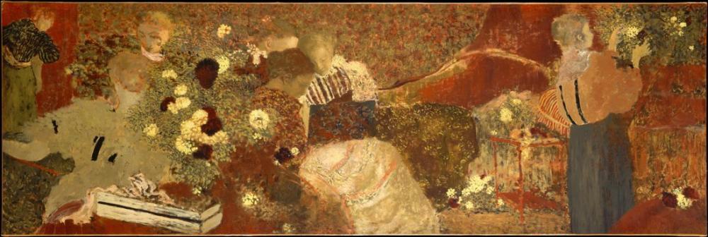 Edouard Vuillard, The Album, Figure, Édouard Vuillard, kanvas tablo, canvas print sales