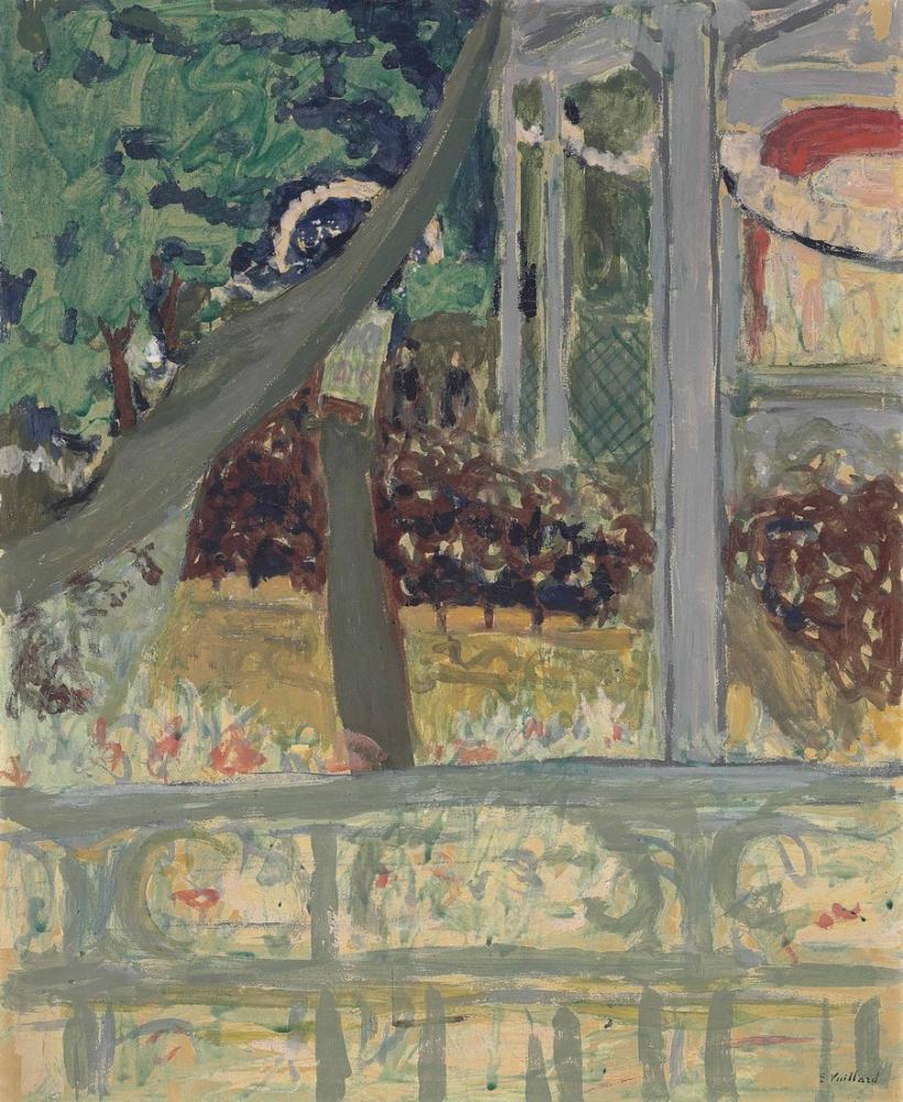 Edouard Vuillard, Theatre de Plein Air, Figure, Édouard Vuillard, kanvas tablo, canvas print sales