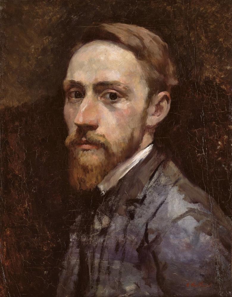 Edouard Vuillard, Beyaz Yakalı, Kanvas Tablo, Édouard Vuillard, kanvas tablo, canvas print sales