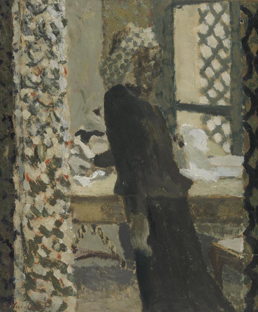 Edouard Vuillard, Kabakulak, Figür, Édouard Vuillard, kanvas tablo, canvas print sales