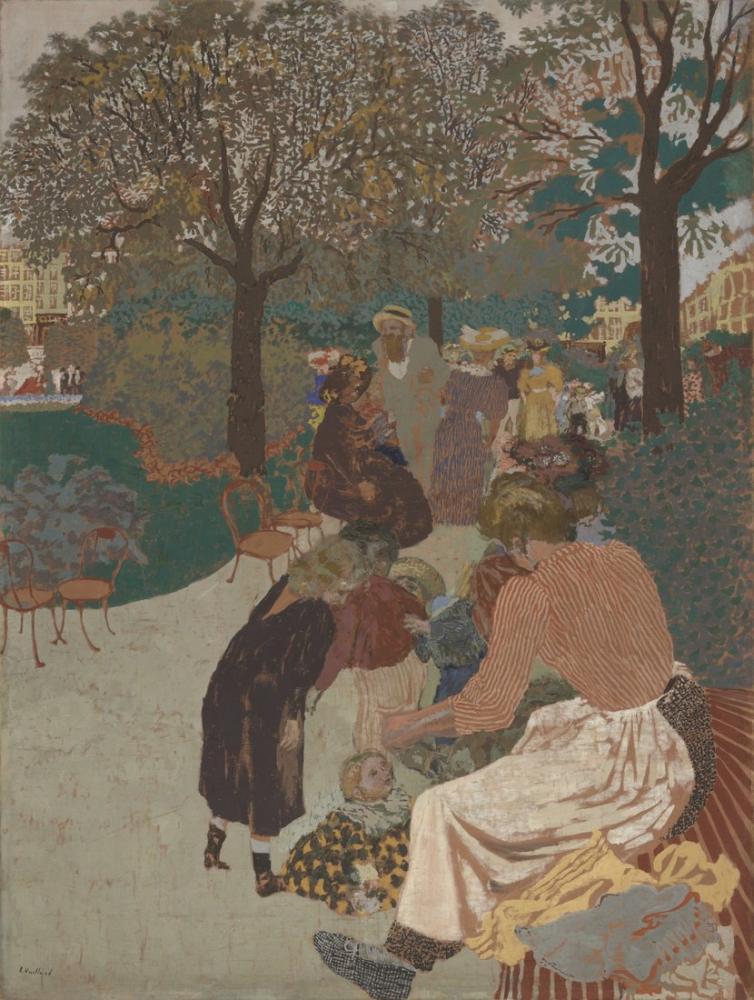 Edouard Vuillard, The Park, Canvas, Édouard Vuillard, kanvas tablo, canvas print sales
