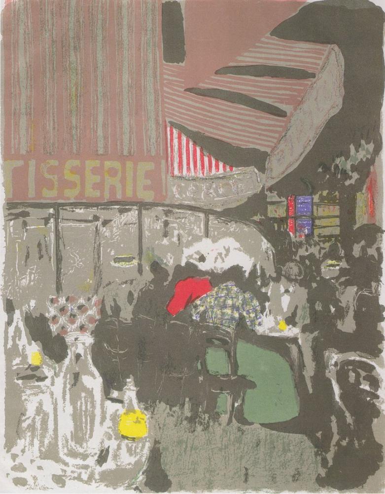 Edouard Vuillard, Pastane, Figür, Édouard Vuillard, kanvas tablo, canvas print sales