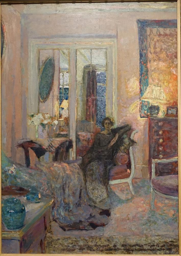 Edouard Vuillard, Prenses Bibesco, Kanvas Tablo, Édouard Vuillard, kanvas tablo, canvas print sales
