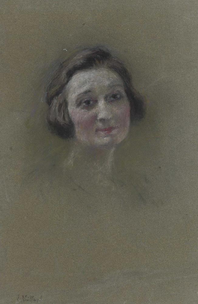 Edouard Vuillard, Therese Pereyra, Kanvas Tablo, Édouard Vuillard, kanvas tablo, canvas print sales