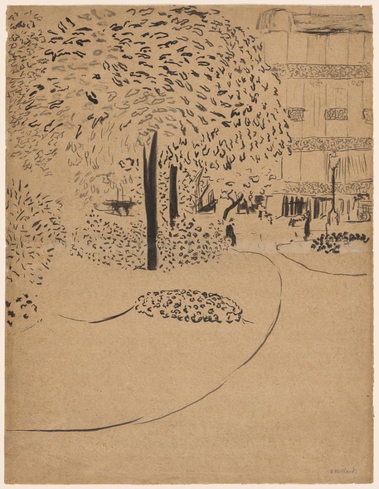 Edouard Vuillard, The Square, Canvas, Édouard Vuillard, kanvas tablo, canvas print sales