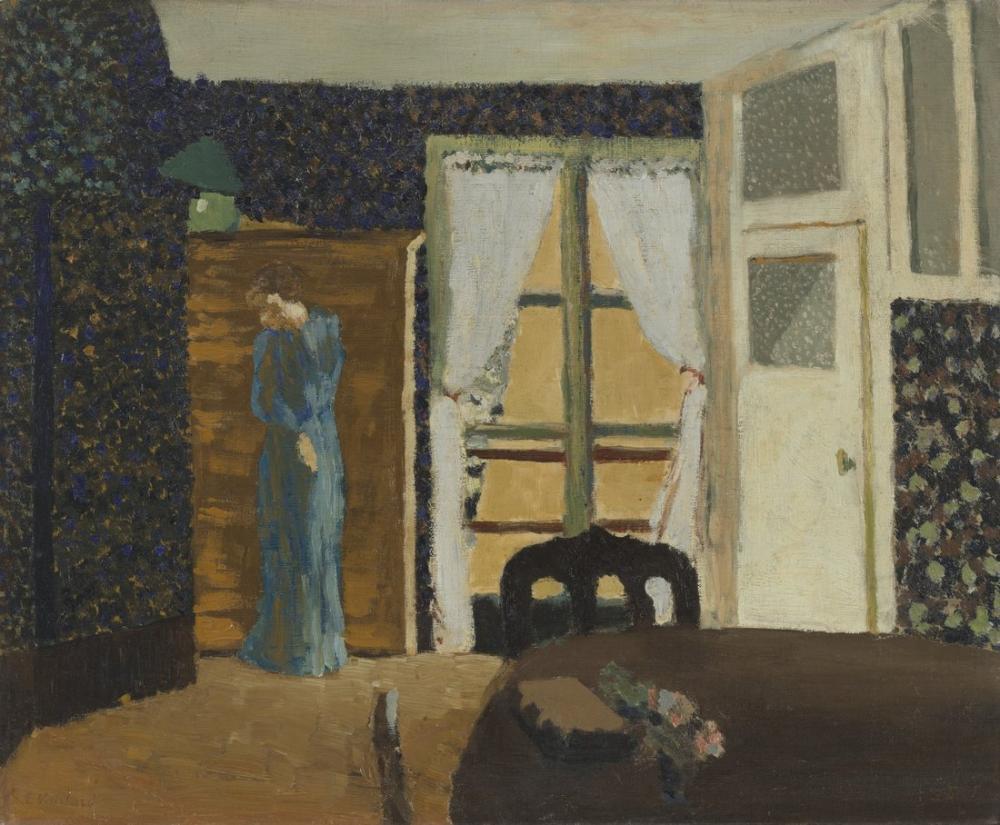 Edouard Vuillard, Pencere, Figür, Édouard Vuillard, kanvas tablo, canvas print sales