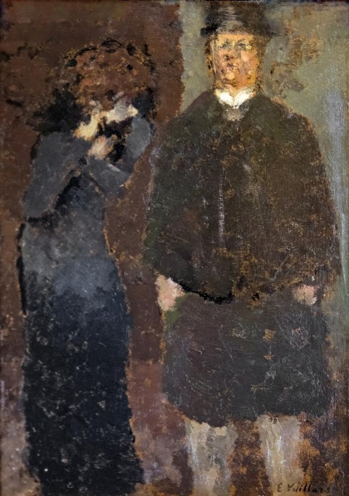 Edouard Vuillard, Toulouse Le couple ou La Remontrance Inv, Figür, Édouard Vuillard, kanvas tablo, canvas print sales